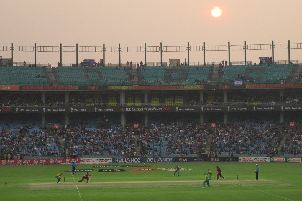 The opening game in Delhi - just a dream come true to be there
