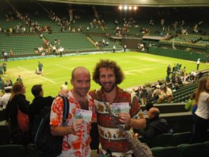 Rob and I on Centre Court!