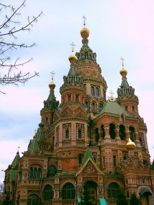 The stunning St. Peter and Paul Church in Peterhof