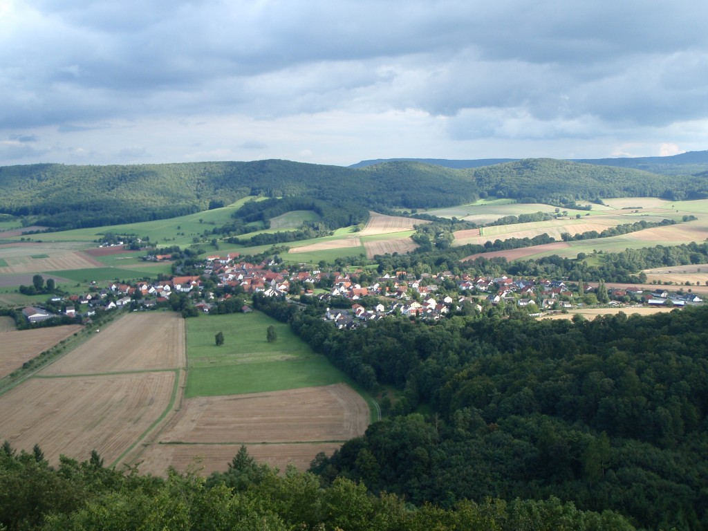 The countryside in Eschwege