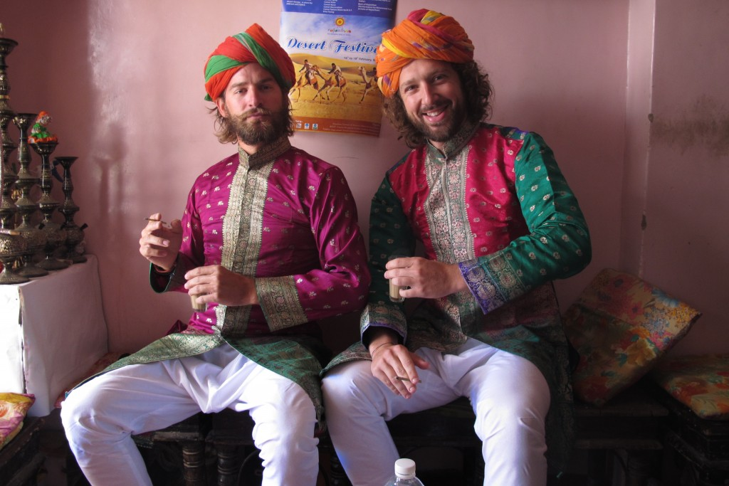 Pauli and I in India over two years ago
