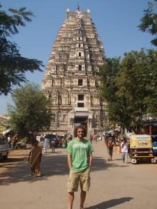 Exploring the temples of Hampi