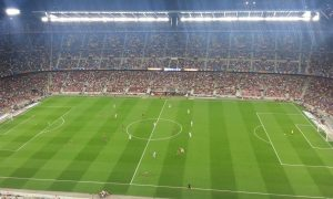 A special experience watching Barca at Camp Nou