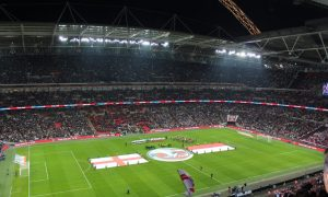 An electric atmosphere at Wembley – England vs. Poland