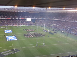 Anthem time at Murrayfield is always so special