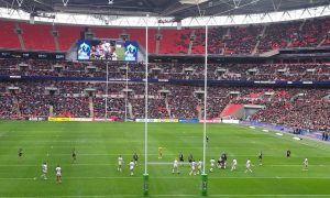The Rugby League World Cup at Wembley