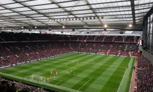 Watching Manchester United at Old Trafford