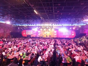Stand up if you love the darts!