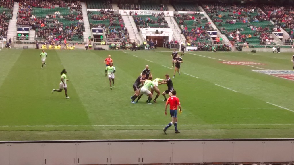The Boks in action