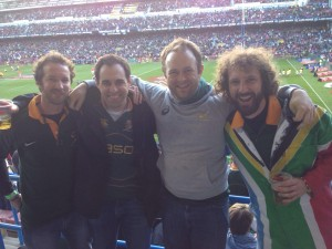 Phenomenal to be back at Newlands watching rugby with the boys