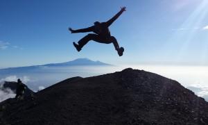 Jumping over Kilimanjaro!