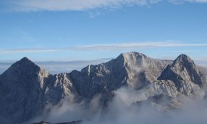 Hiking in the Slovenian Julian Alps