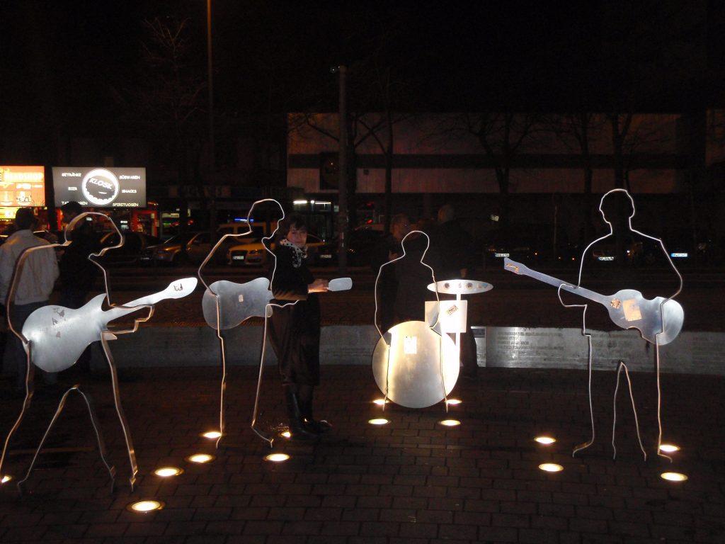 The Fab Four 'Memorial' in Hamburg
