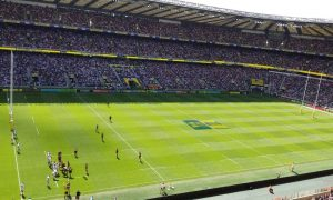 Watching the Premiership final at Twickenham – Wasps vs. Exeter Chiefs