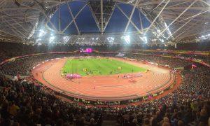Watching South African Wayde van Niekerk win 400m gold at the World Champs