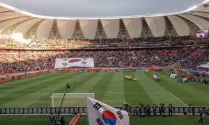 Back home in South Africa for the 2010 Football World Cup