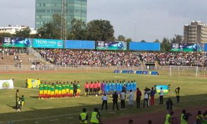 Watching  football in Addis Ababa – Ethiopia vs. Rwanda
