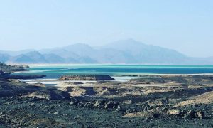 Djibouti: Floating at the lowest point in Africa!