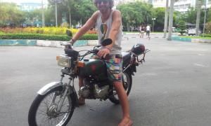 Biking through Vietnam