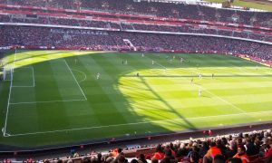 Sitting with the away Watford fans – FA Cup 6th round vs. Arsenal