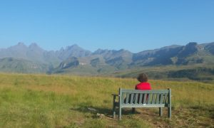 Hiking in South Africa in the Drakensberg