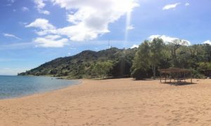 The beautiful Lake Malawi