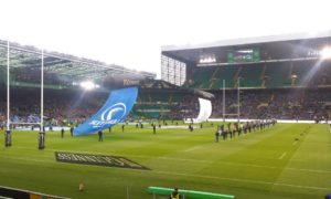 Watching Leinster win the Pro 14 at Celtic Park