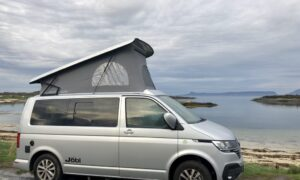 Holidaying in Scotland with a campervan and a bump